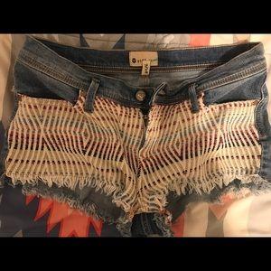 Cheeky Roxy shorts!